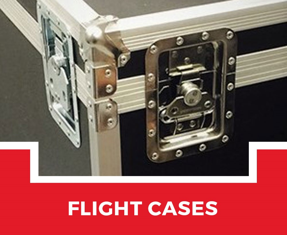 Custom Made Flight Cases from Topper Cases Cambridgeshire